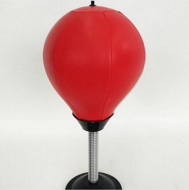 Boxing Ball Stress Relief Table Pugilism Ball Desktop Punching Bag Vertical Fidget Toy Vent Decompression Office Toys Training Tools