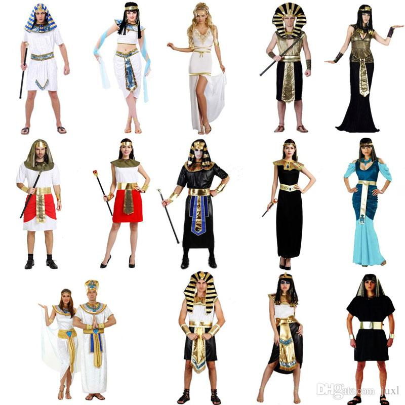 Egypt Costume Elegant King Queen Pharaoh Costume Adult Cosplay Halloween Carnival Costumes Fantasia Fancy Dress Party Supplies Halloween Costumes For Five ...  sc 1 st  DHgate.com & Egypt Costume Elegant King Queen Pharaoh Costume Adult Cosplay ...