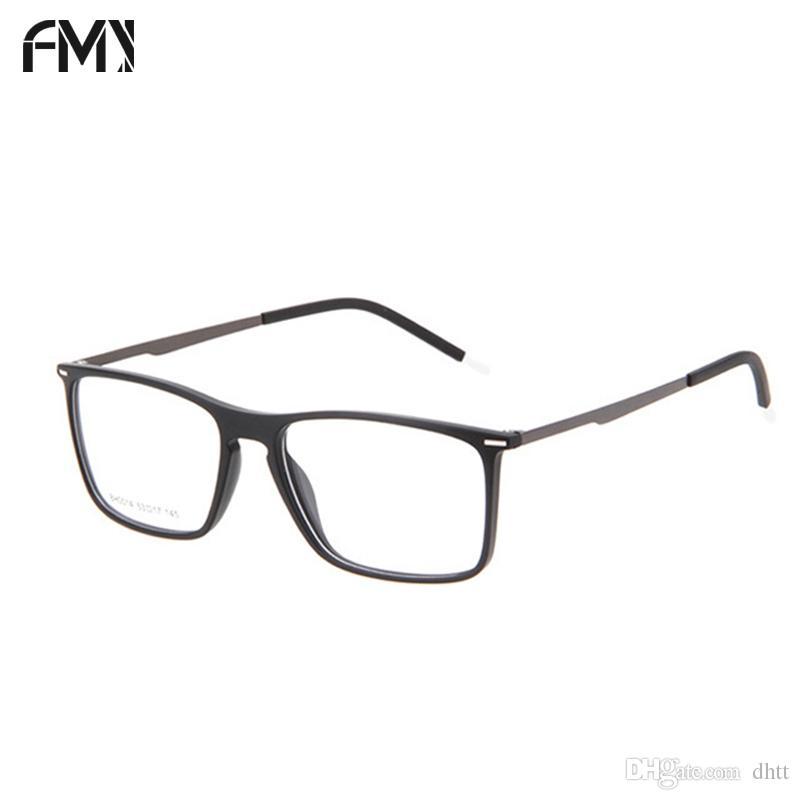 2018 FMY Glasses Frame TR90 Super Light Full Framed Thin Temple ...