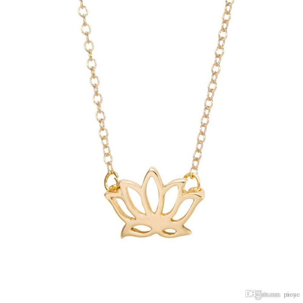 Wholesale buddhist elements lotus flower necklaces pendants for wholesale buddhist elements lotus flower necklaces pendants for women elegant lady sterling silver jewelry jl 440 popular pendant necklaces red pendant izmirmasajfo Images