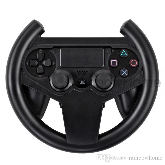 Direção Titular da Roda de Corrida para Playstation Dualshock 4 PS4 Controlador de Jogos Joypad Aperto de Mão Compacta Durável Caixa De Varejo
