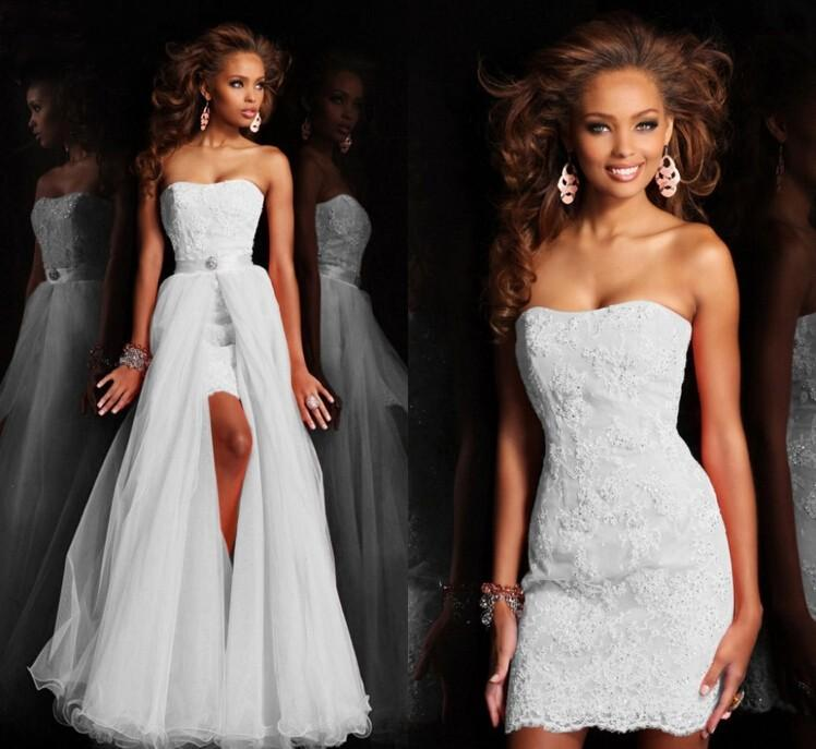 Discount New Design Over Skirts Wedding Dresses Under 100 Cheap
