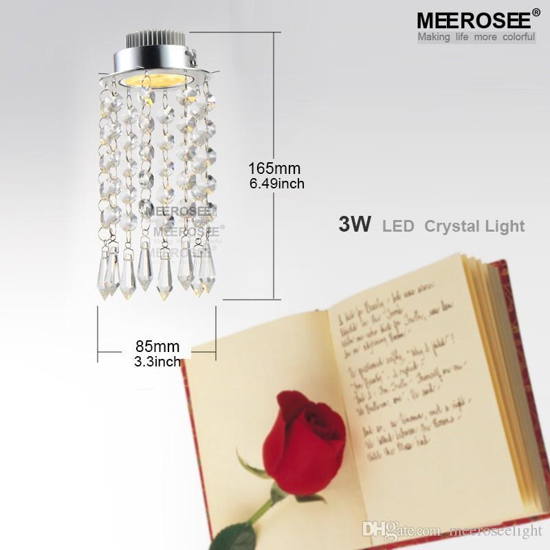 Lámpara de cristal moderna de la mini lámpara de cristal Lámpara de cristal de la lámpara lustres Ajuste de la luz para la escalera del pórtico del pasillo del pasillo