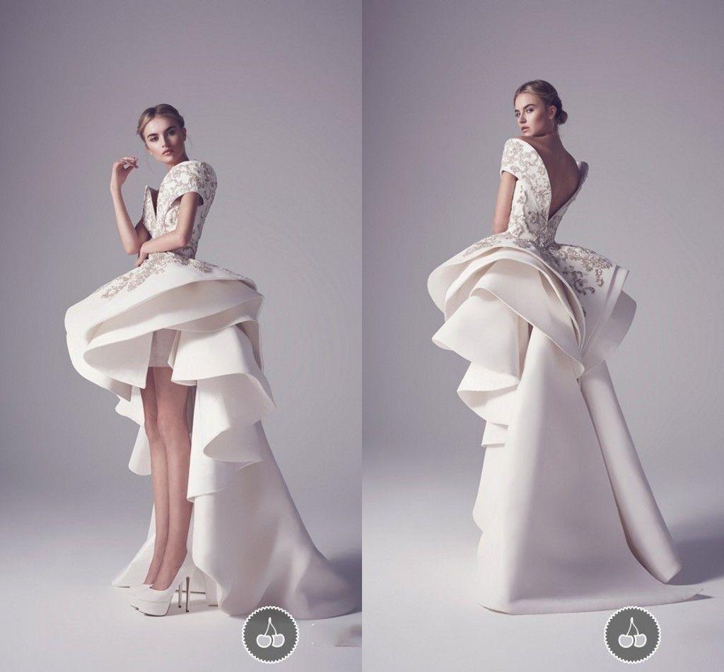 d18b6c6e03602 Ashi Studio High Low Prom Dresses Off Shoulder Embroidery Sequins ...