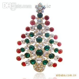 wholesale crystal christmas ornaments christmas gifts christmas tree brooch christmas decorative boxes christmas decorative items from laurul - Crystal Christmas Decorations