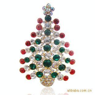 wholesale crystal christmas ornaments christmas gifts christmas tree brooch christmas decorative boxes christmas decorative items from laurul - Crystal Christmas Decorations
