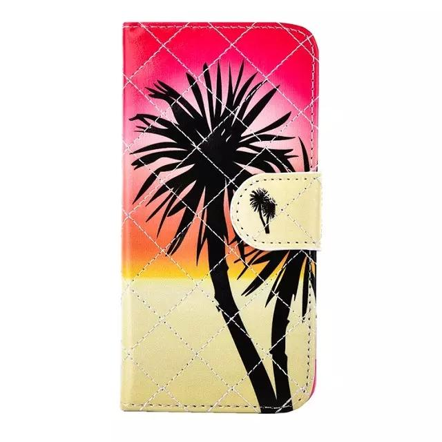 2015 For Iphone 6 Plus case Iphone 6 case Iphone 5s Samsung Galaxy S6 Stand Wallet leather PU TPU Painting Back Cover Cell Phone Cases