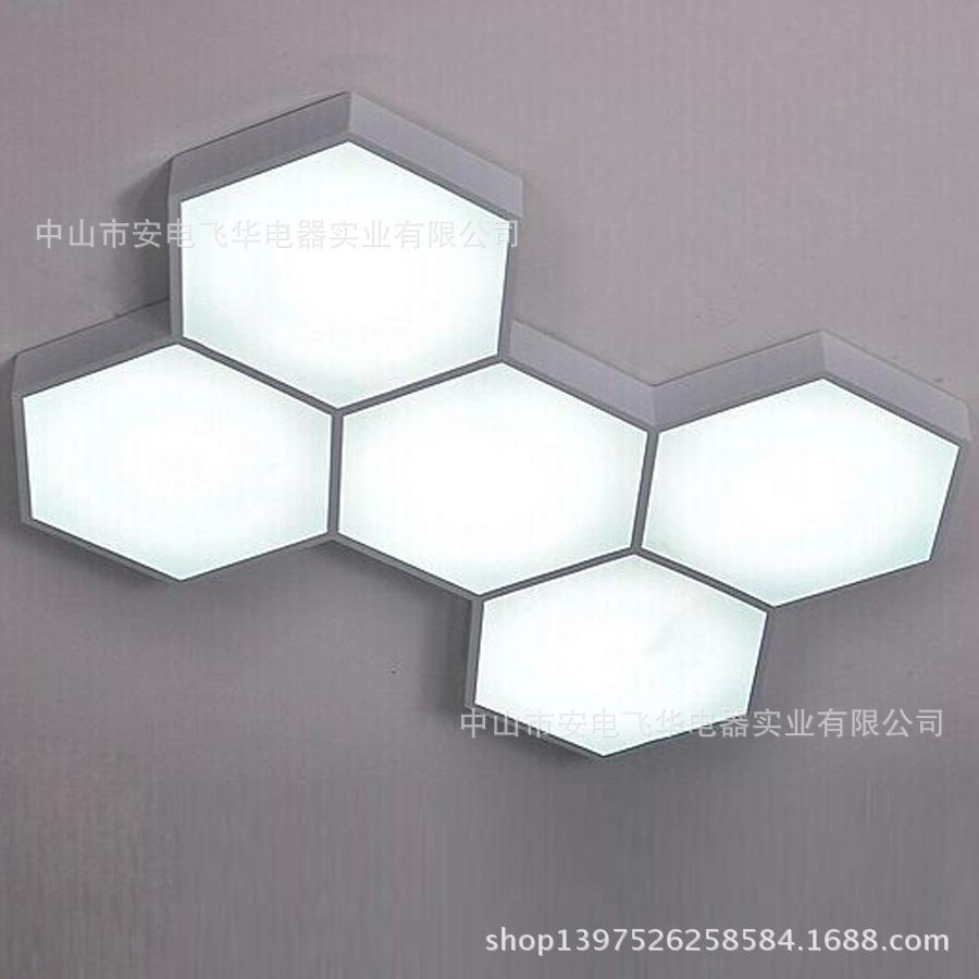 discount new modern five personality led ceiling hive box office  - new modern five personality led ceiling hive box office living room bedroomstudy lamp light wholesale