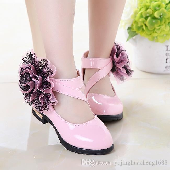 Pink Party Shoes for Girls