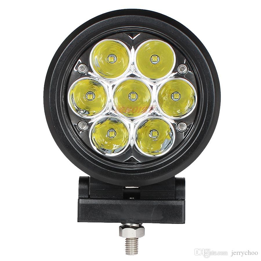 Super Bright 4.5 Inch 35W Cree Chips Front Bumper Grille Dome Light For Car Offroad SUV ATV UTV 4*4 Truck Bus 12V 24V