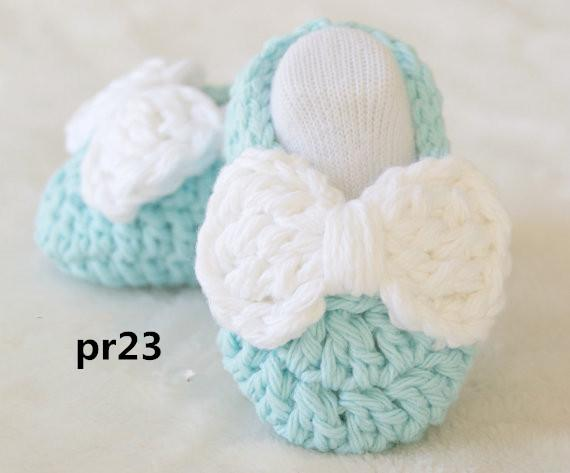 2019 Crochet Baby Booties Newborn Crochet Shoes Crochet Booties