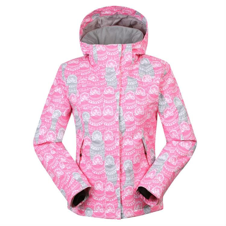 99ca52e505 2019 2015 Girls Pink Floral Ski Jacket Waterproof Ski Coat Windproof Warmth  Kids Ski Wear 30 Degree From Jacobwang100