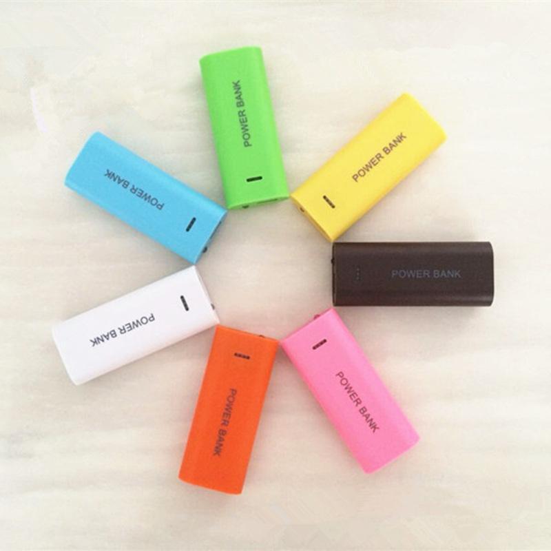 2 x 18650 Case Chargeur USB Power Bank Box Kit DIY pour téléphone portable iphonex iphone 8