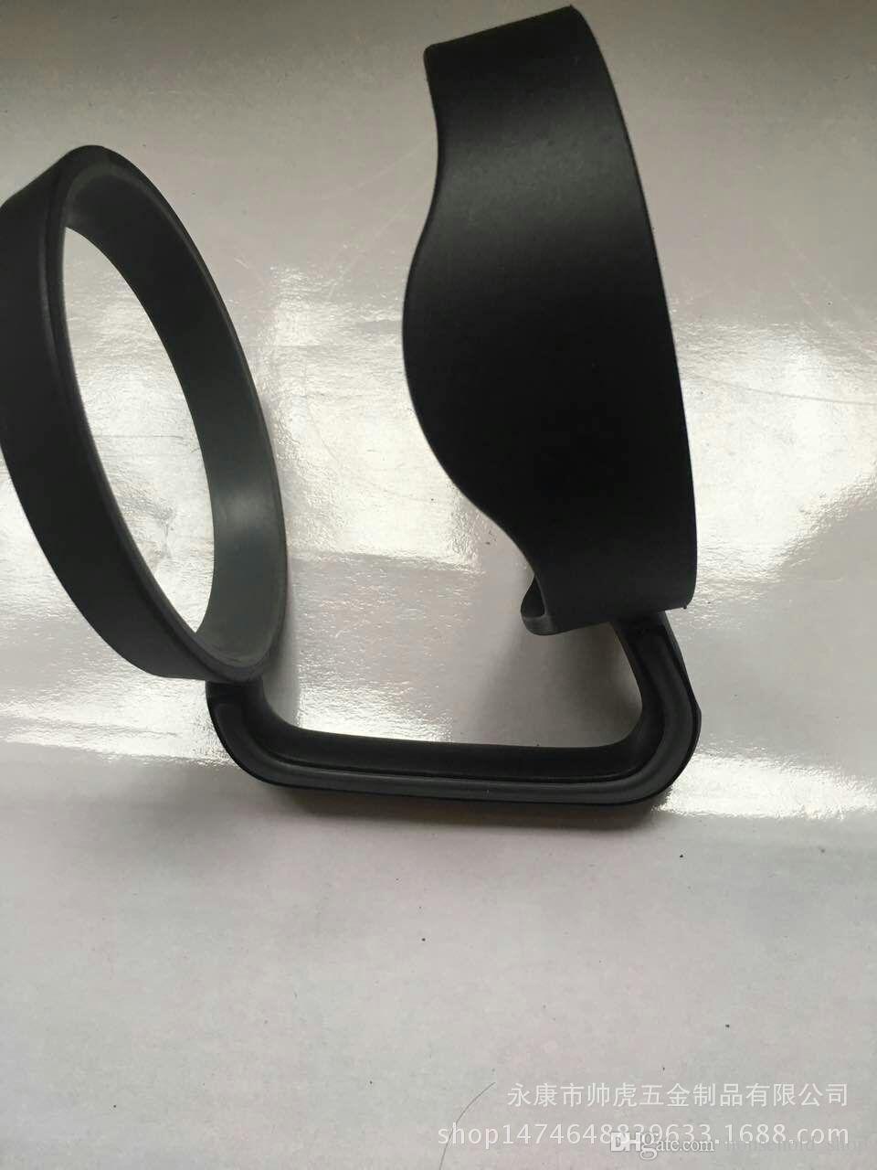 Titular canecas ForRocky Mountain Handle 840 ml Copo De Plástico Preto Punho Mão Titular Fit Canecas de Viagem Drinkware