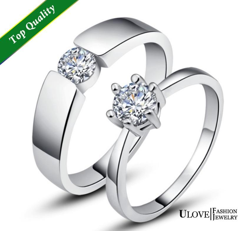 see larger image - Wedding Rings For Men And Women