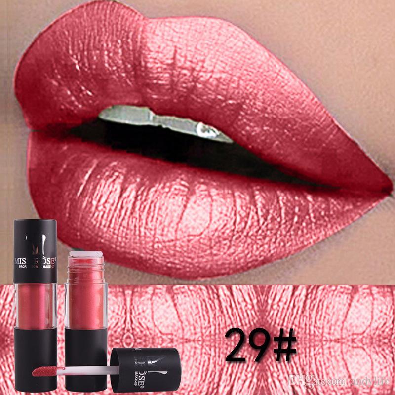 12 цветов MISS ROSE Марка Помада татуировки Maquillage Батончики Матовый Nude Помада Жидкие Губы Блеск для губ Matte Lip Tint Макияж