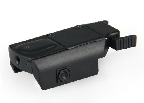 montaggio mini rosso mirino laser puntatore laser rosso nuovo arrivo sul 20mm portata del fucile la caccia