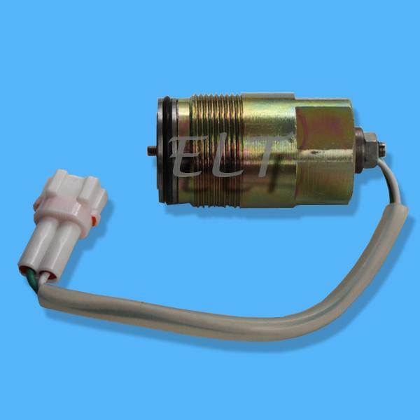Kobelco SK200-3 Main Pump Hydraulic Pump Solenoid White Socket ...