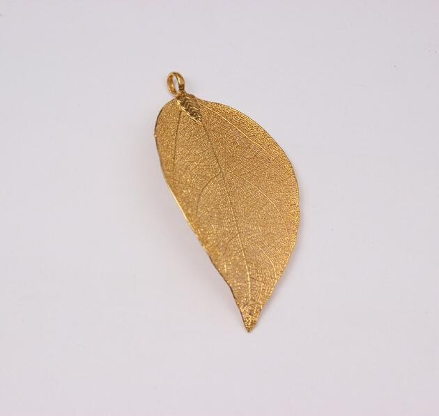 pendant pin necklace nugget gold pure mens natural