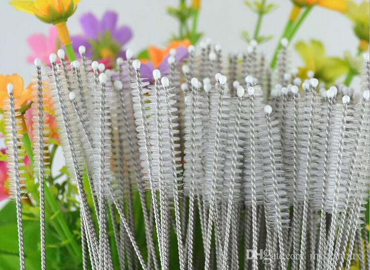 1500 adet paslanmaz çelik tel temizleme fırçası payet temizleme temizleme fırçası şişeleri fırça Ücretsiz kargo