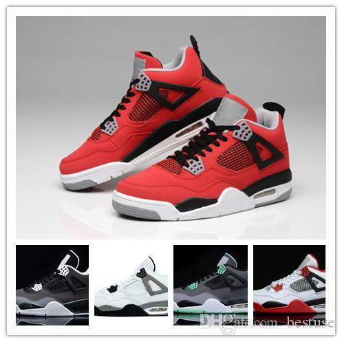 b1f26ea002b750 New 4 Mens Women Basketball Shoes 4s Pure Money Royalty White Cement ...