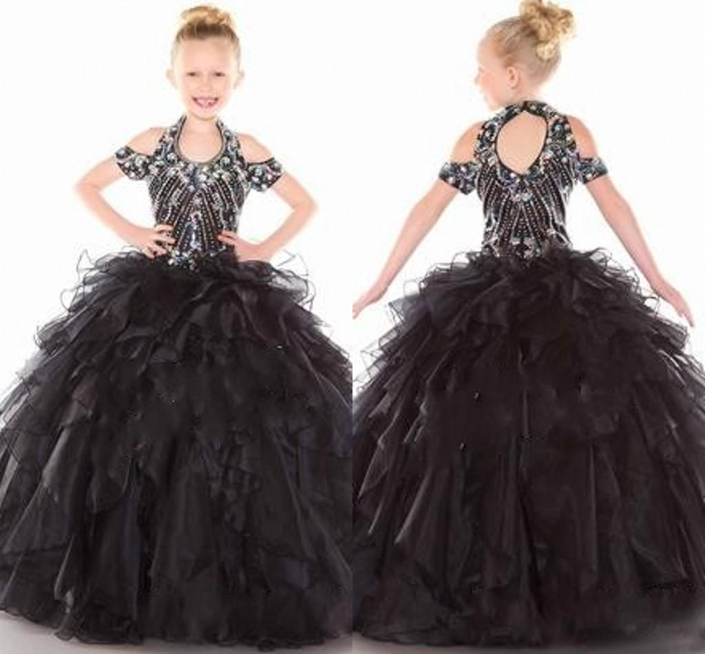 Stunning Pageant Dresses 2016 Cheap Kids Ball Gowns Little Girl'S ...