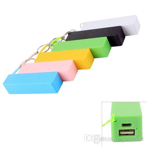 2600mAh Power Bank Emergency USB Portable External Battery Charger Universal for iPhone 6 5 4S 4 Samsung Galaxy Cell Phones