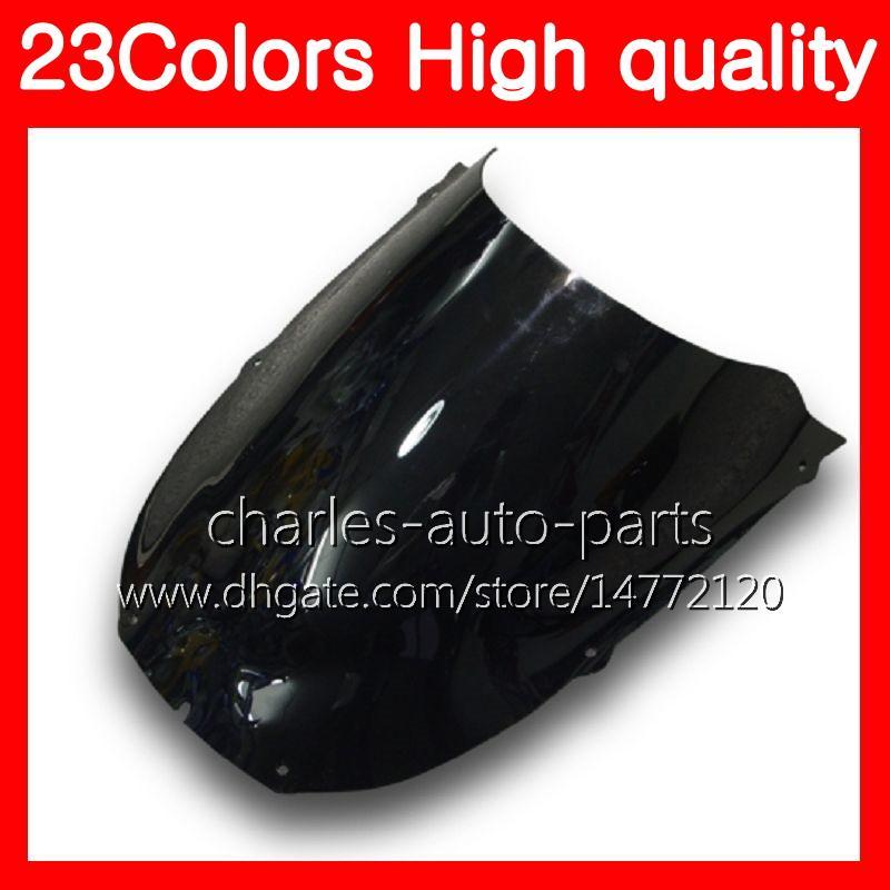 100%New Motorcycle Windscreen For YAMAHA YZF1000R 1996 1997 1998 1999 00 YZF 1000R 2002 2003 2004 2007 Chrome Black Clear Smoke Windshield
