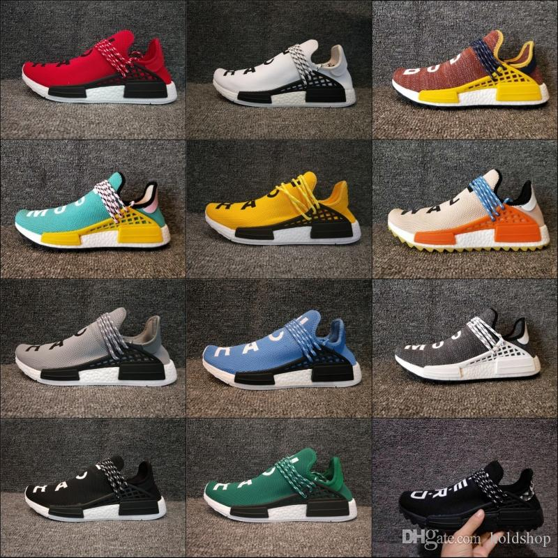 2018 Adidas Originals NMD Human Race New Arrival Mens Women Running Shoes  Boost Cheap Top Quality Lightweight Sport Sneakers US 5-12 Basketball Shoes  Men ...