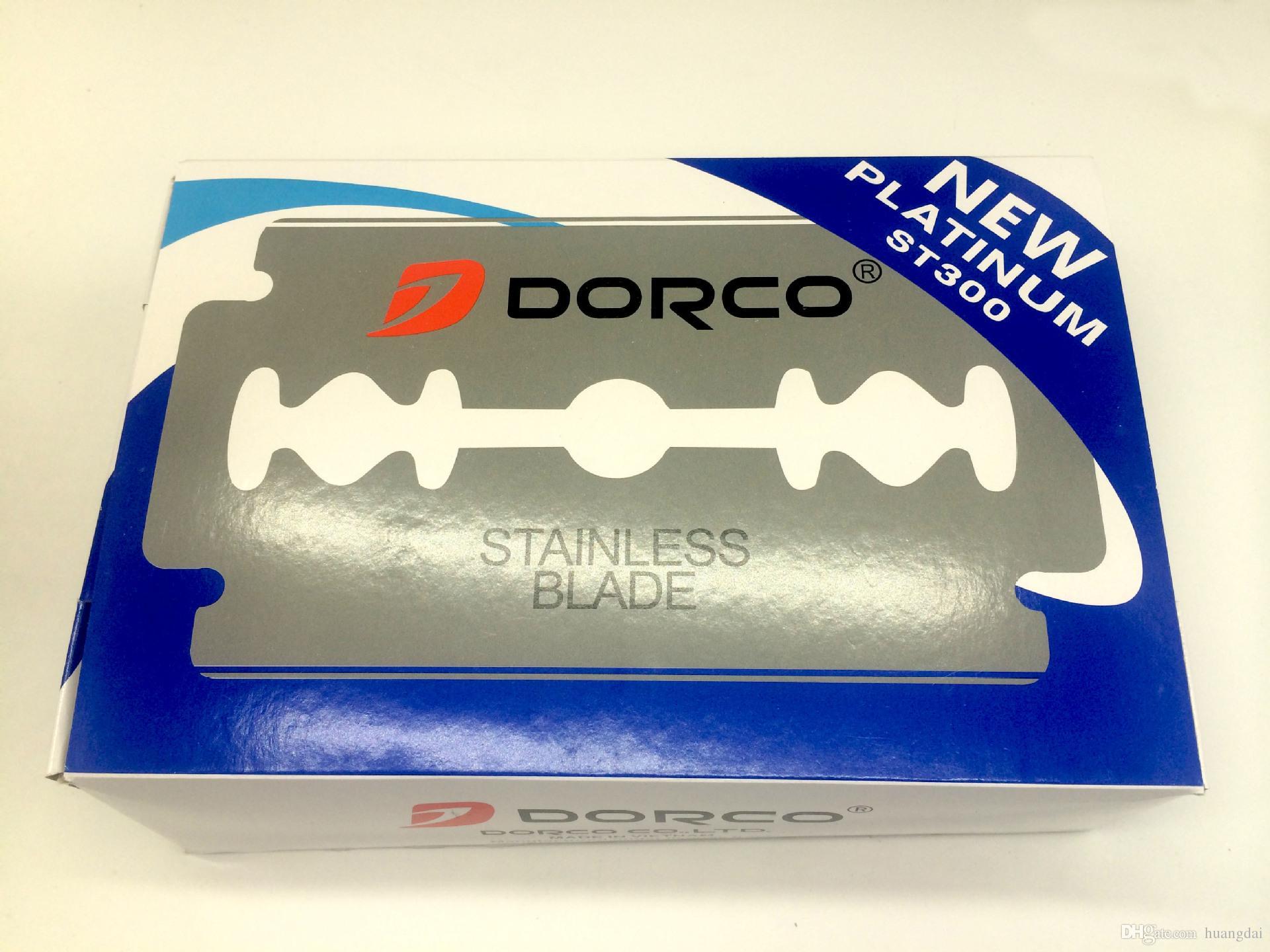100 قطع عالية الجودة دوركو شفرات platnum المقاوم للصدأ سلامة مزدوجة حافة شفرة الحلاقة بليد الساخن بيع