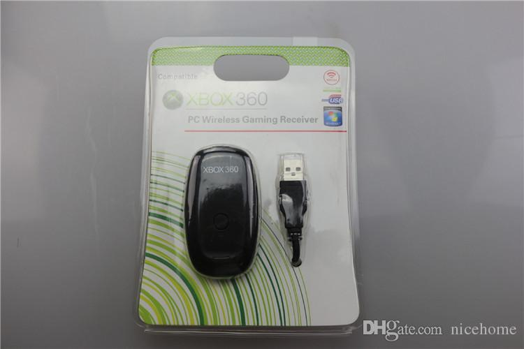 For Xbox360 New Black Pc Usb Gaming Receiver For Microsoft Xbox 360 ...