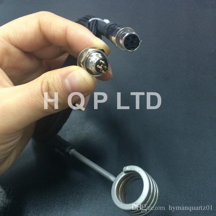 Кварцевый нагреватель для гвоздей Domeles с розеткой xlr для дома Кварцевый электрический нагреватель для гвоздей с 5-контактным кевларовым наконечником