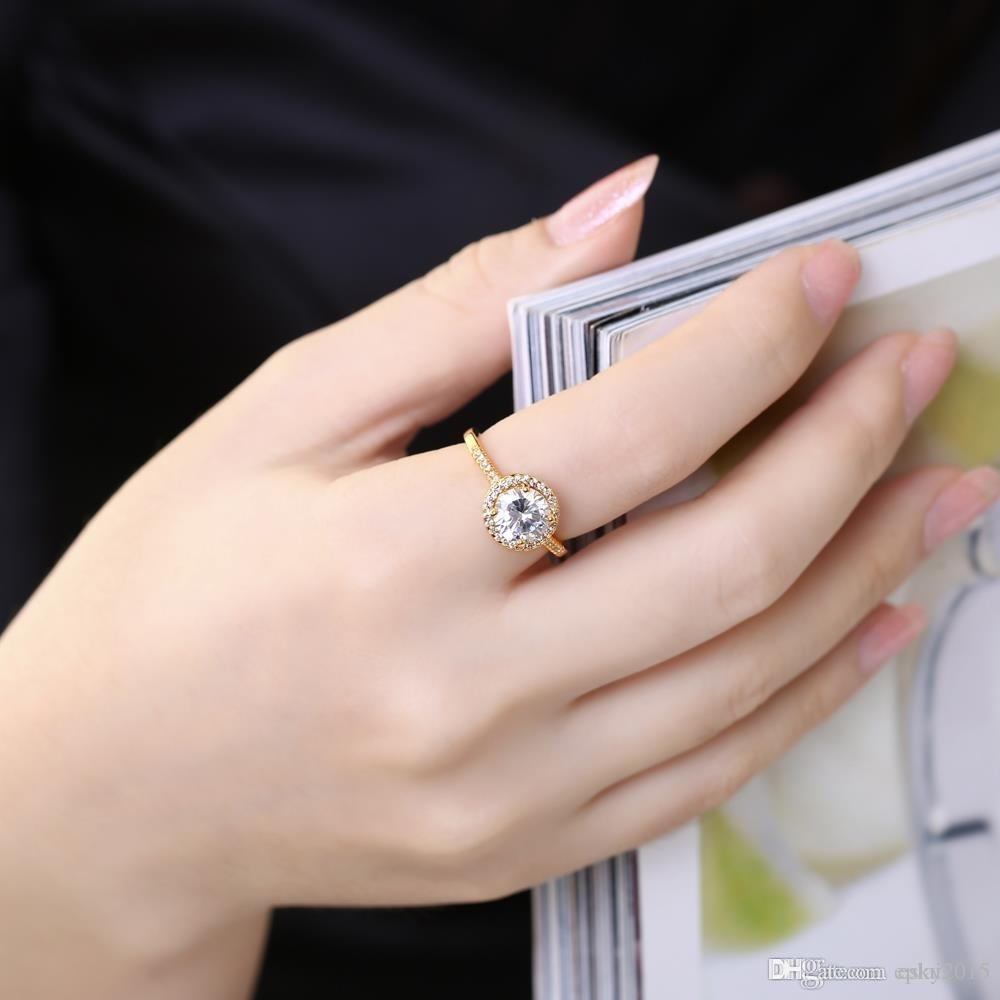 Best Quality Korean Fashion Women Lady Elegant 925 Silver Plated ...