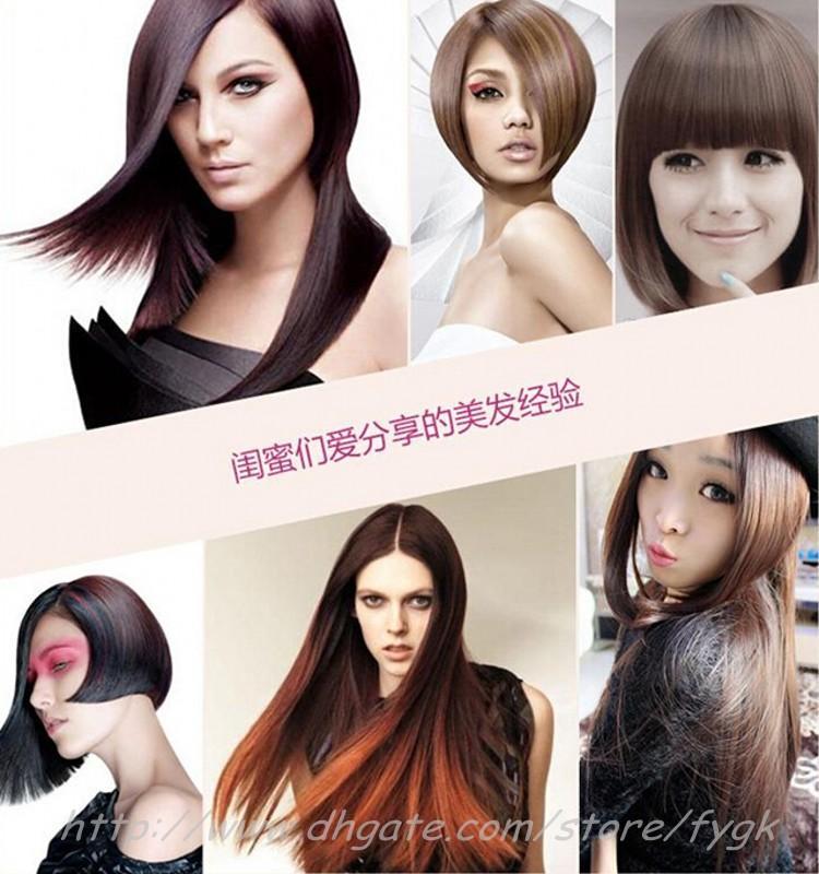 Belle étoile NASV défriser les cheveux nouveau style droit cheveux outil de styling fer plat avec lcd numérique température