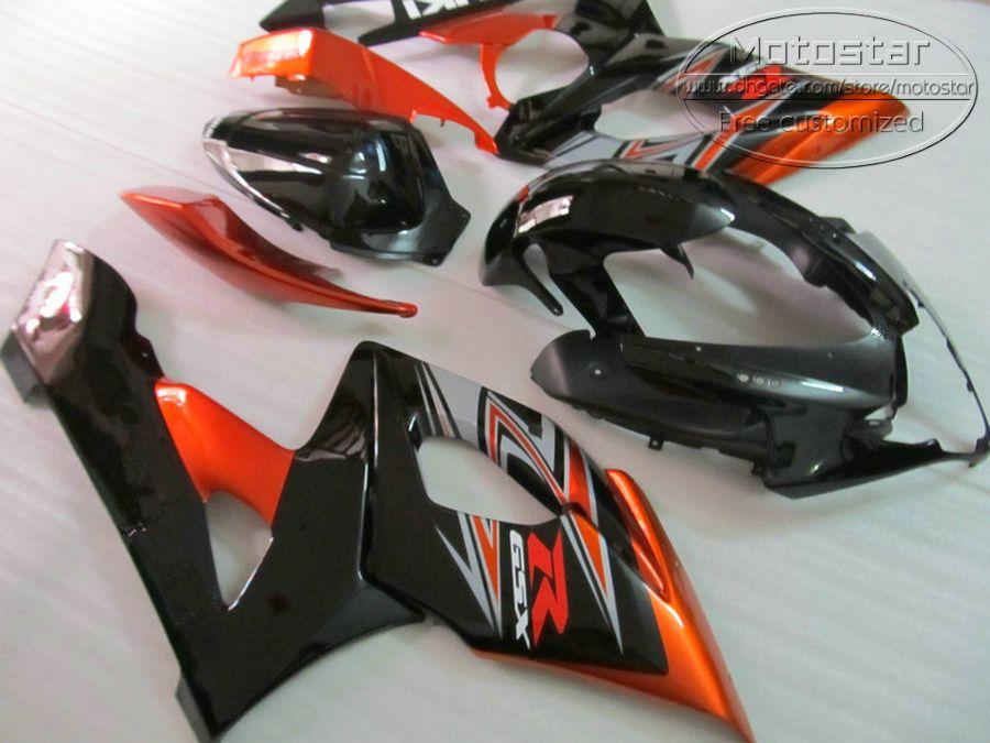Пластиковый обтекатель комплект для SUZUKI 2005 2006 GSXR 1000 K5 K6 GSX-R1000 05 06 gsxr1000 красный черный мотоцикл обтекатели набор SX80