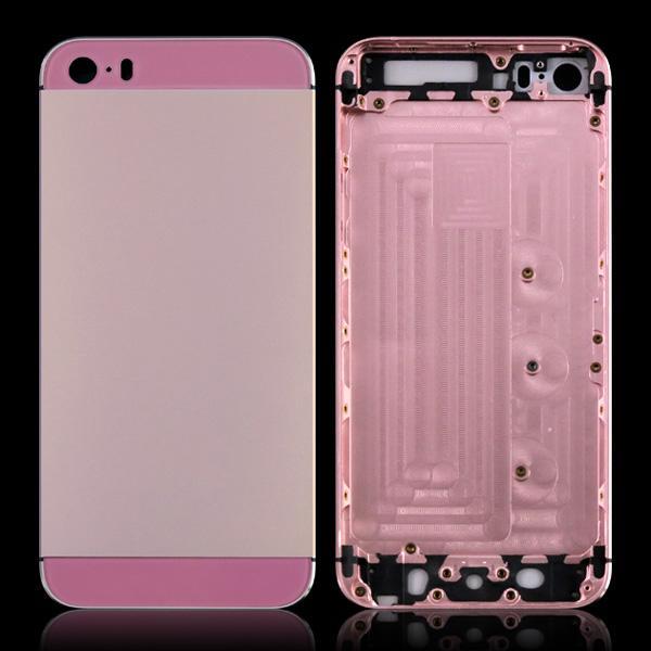 نمط جديد لفون 5S iphone5S البطارية الإسكان الغطاء الخلفي الباب استبدال الجزء 12 الألوان