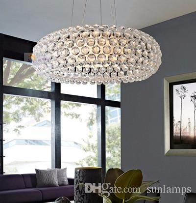Postmodern Led Acrylic Ball Pendant Lights Kitchen Bar Light French Style Restaurant Wedding Room Art Decorative Indoor Lighting Led Lustres Decorative ... : led kitchen pendant lights - www.canuckmediamonitor.org