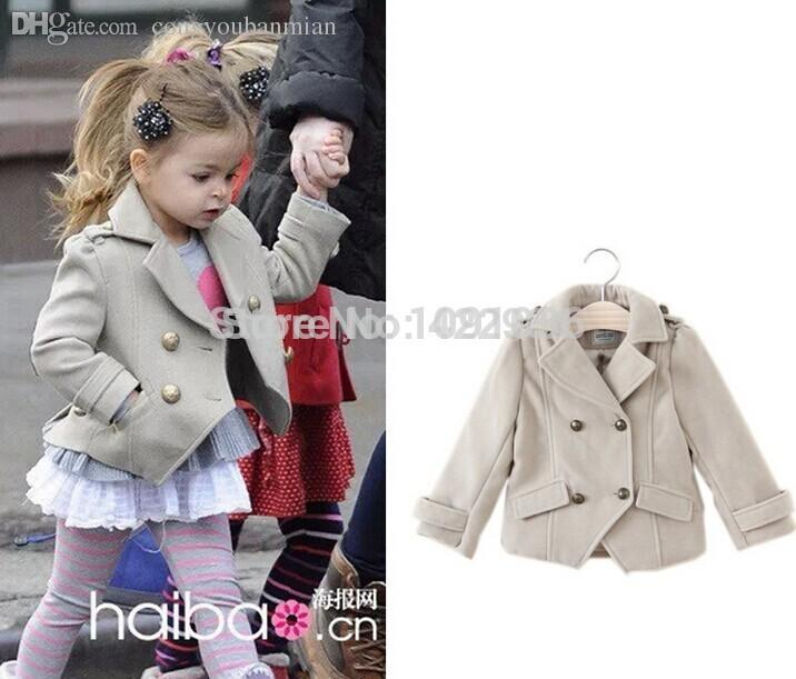 Wholesale 2016 British Designer Girl'S Fashion Jackets Girls ...
