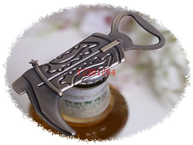 500 قطعة / الوحدة شحن مجاني الرئيسية ريترو خمر يمكن البيرة الأحذية الأحذية شكل زجاجة فتاحة حفل زفاف أداة الحرفية