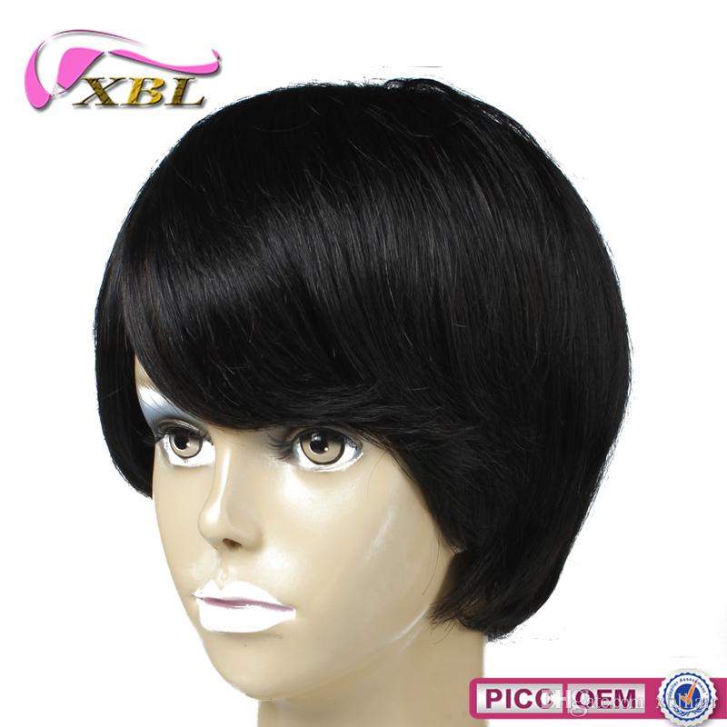 Short Hair Wigs Different Hair Style Brazilian Indian Malaysian Peruvian Hair Five Different Hair Wig For You Choose