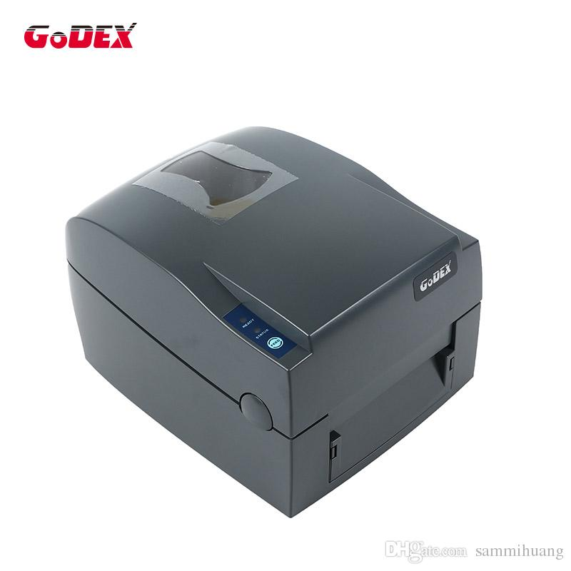 Godex G500U etiqueta térmica y ancho de impresión 108 mm impresora de código de barras pueden apoyar para imprimir la etiqueta de la joyería y la etiqueta de ropa de la máquina pegatina