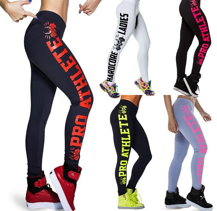 270d0c67ac0f6 2019 Fashion Yoga Pants Slim Legging Pant Side Skeleton Printed Letters  Feet Pants Carry Buttock Sports Yoga Leggings Women Fitness Pants From  Eastgrace