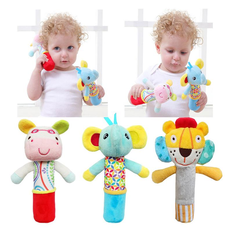 2019 Wholesale New Educational Toys For Baby Girls Boys Rattles