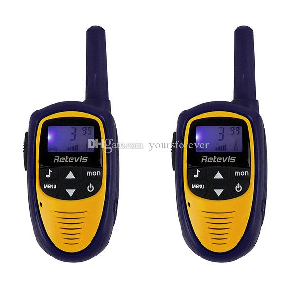 2pcs Мини-Talkie Walkie RT31 22CH 0.5W УВЧ 462.5625-476.7125 FRS / GMRS VOX ЖК-дисплей Two Way Радио A9112L