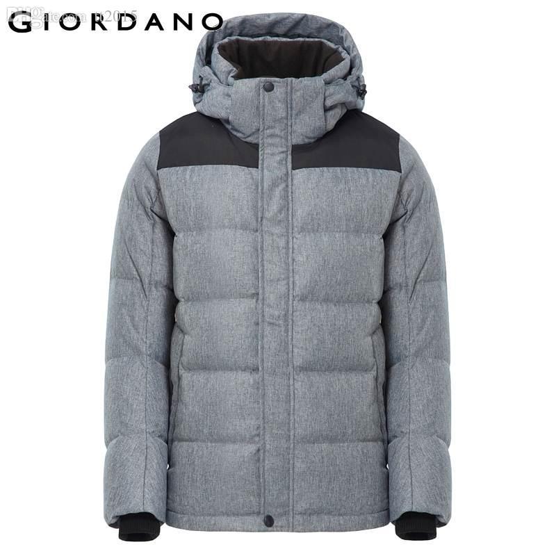 Online Cheap Fall Giordano Men 2015 Brand Men Down Jacket Winter ...