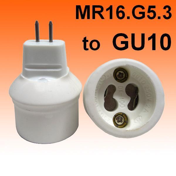 2016 mr16 g5 3 gu4 0 to gu10 to mr16 g5 3 base holder socket converter adapter lamp bulb fitting. Black Bedroom Furniture Sets. Home Design Ideas