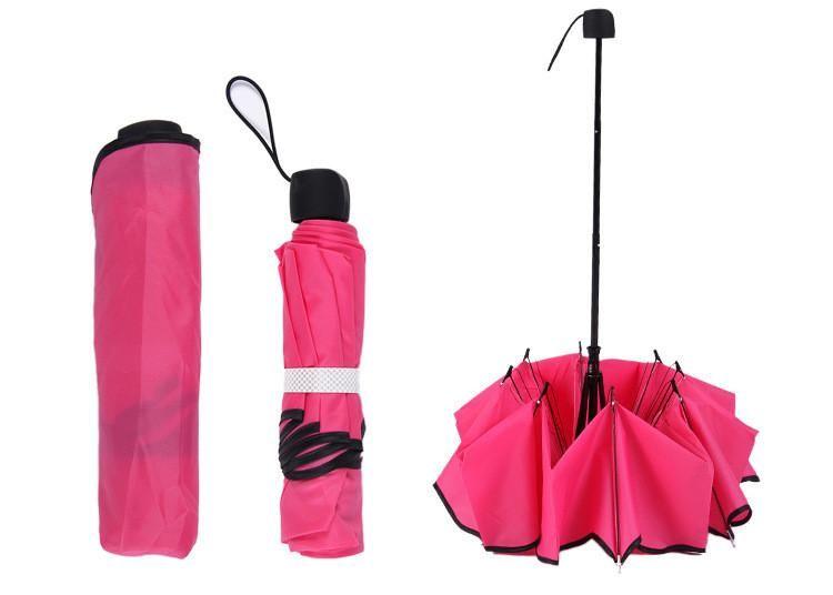 Candy Color Princess ruffle folding scalloped sun rain protection manual umbrellas for Christmas gift