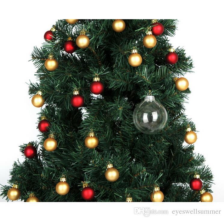 Wedding 80mm gingillo Natale ornamenti di natale palline di vetro palle di decorazione di nozze Palle di Natale di vetro libera 3