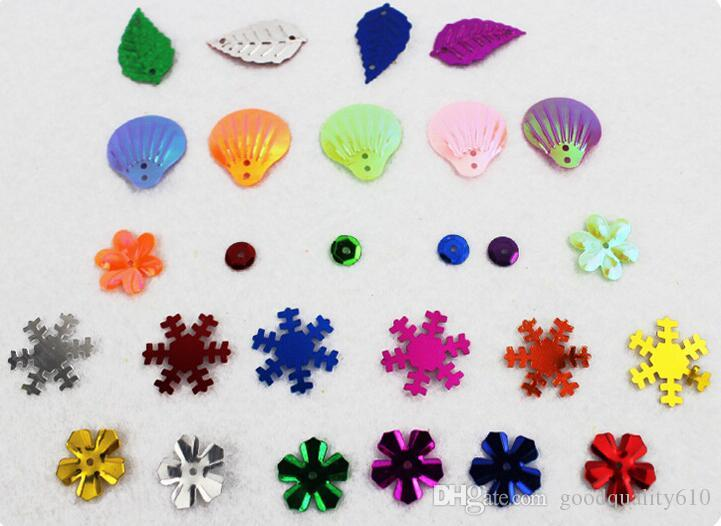 lantejoulas forma de cor mista para crianças crianças brinquedos educativos artesanato diy
