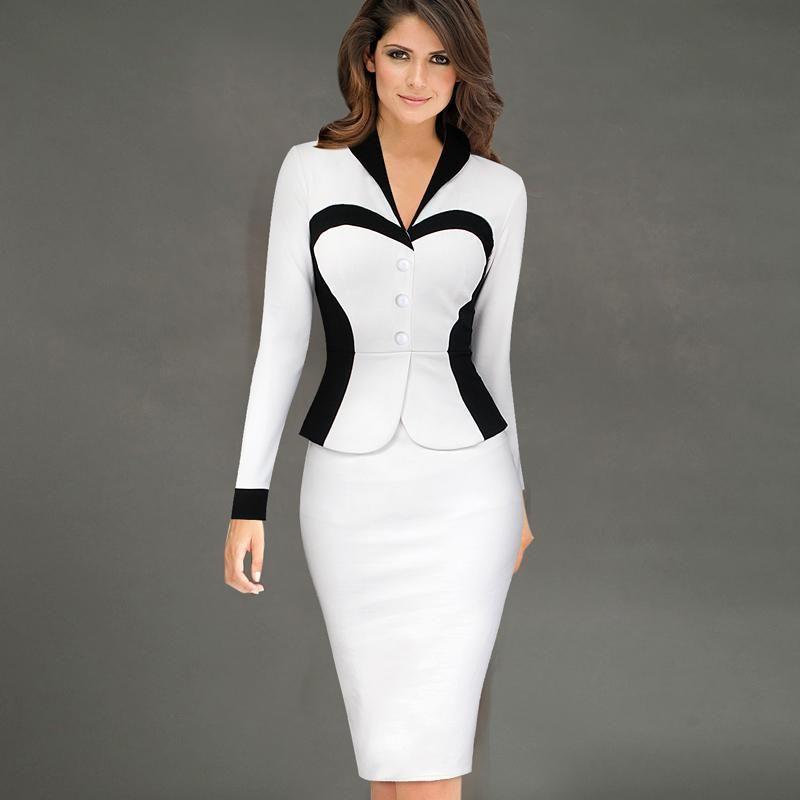 Discount Cotton Dresses For Office Wear | 2017 Cotton Dresses For ...